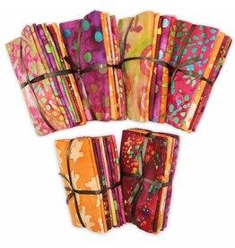 """Fabric Bundle (5pcs) - Batik Collection - 45 x 53cm (18"""" x 21"""")"""