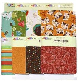 "Coordinating Prints Fabric (2pcs) - Wild Woods - 90cm x 1m (36"" x 42"")"