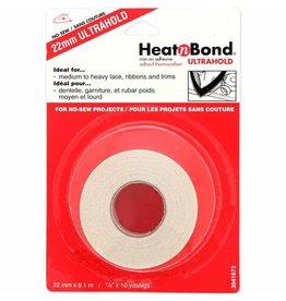 "HEATNBOND Ultra Hold Iron-On Adhesive Tape - 22mm x 9m (7/8"" x 10yds)"