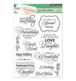 Clear Stamp Set, Special Wishes