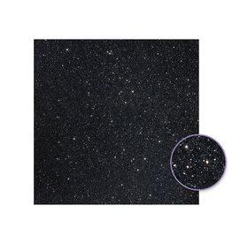"""12""""x12"""" Duo-tone Fantasy Glitter Paper - Black"""