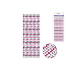 4mm Gem Lines 1029pc Pink