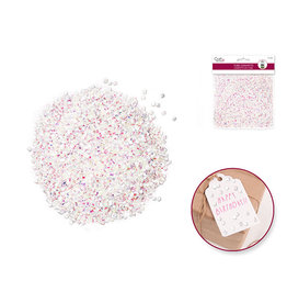 MultiCraft 20g Tube Confetti B) White Irridescent