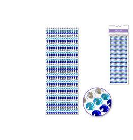 6mm Gem Lines 504pc Blue
