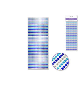 4mm Gem Lines 1029pc Blue