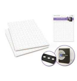 "3D Pop Dots: 1/4"" Round x264 Dual-Adhesive Foam Mount"