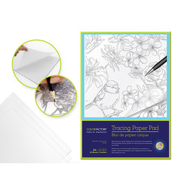 "Tracing Paper 9""x12"" 50gsm 24 Sheets Acid Free"