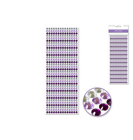 6mm Gem Lines 504pc Purple