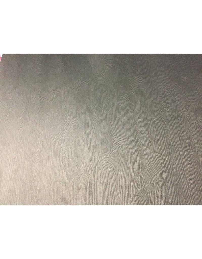 Treasuremart 12X12 Textured Woodgrain Cardstock, Black