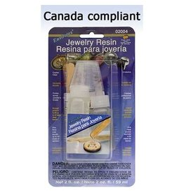 Jewelry Resin Premium-Dries Crystal Clear 2oz CANADA