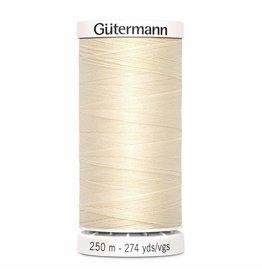 Gutermann Gutermann Sew-all Thread 250m Color Set 3 Ivory