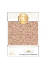 MINC Glitter Sheets, 6x8 Rose Gold