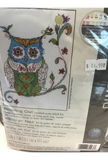 Dimensions Needlepoint - Blooming Owl