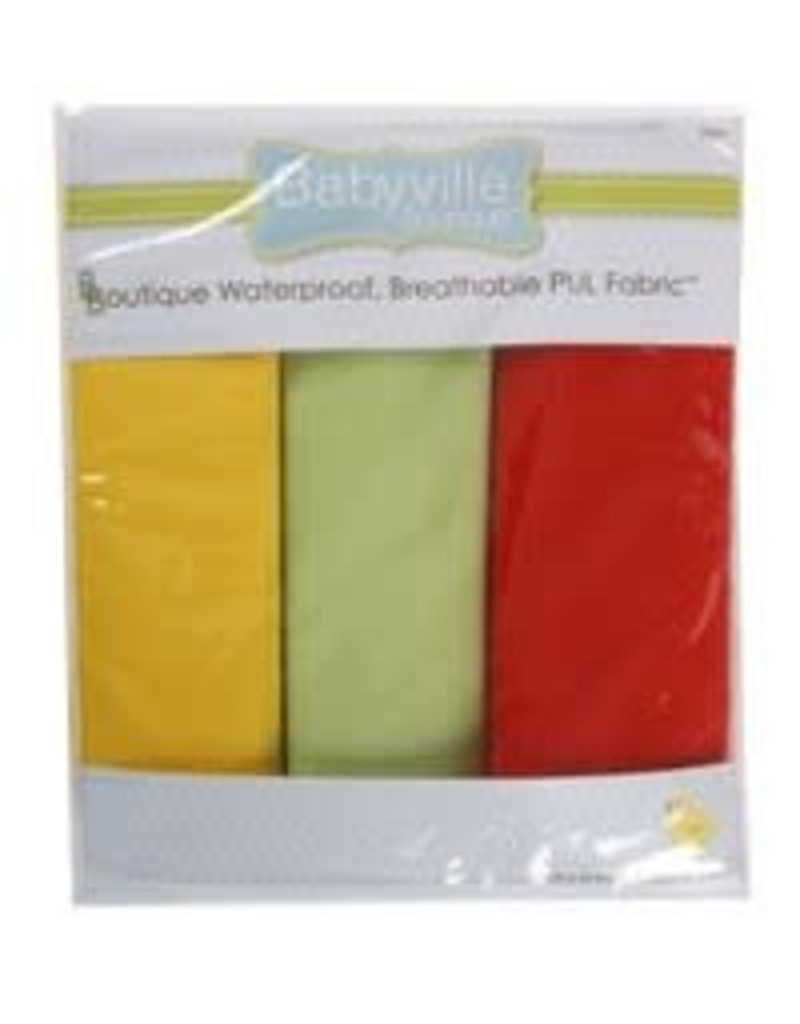 "Babyville Boutique Pul Fabric Packaged 21""X24"" Cuts - Neutral Solids"