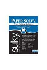SULKY Paper Solvy - White - 21.5 x 28cm (81⁄2″ x 11″) - 12 sheets