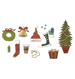 Tim Holtz Thinlits Die Set, Festive things