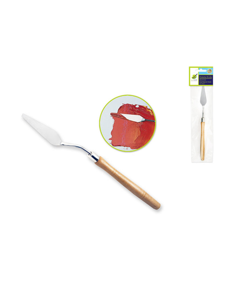 Color Factory Tool: Metal Palette Knife- Long Tapered