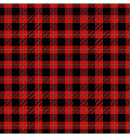 "Buffalo Plaid - Pattern Vinyl Orajet 3651 12"" x 12"""