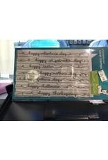 Treasuremart Clear Stamp Set: Celebration Scripty Sayings