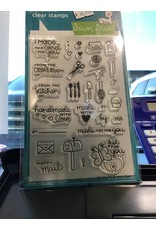 Treasuremart Clear Stamp Set: Just For You
