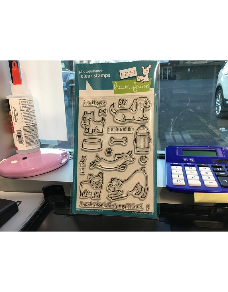 Treasuremart Clear Stamp Set: Critters at the Dog Park