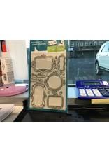 Treasuremart Clear Stamp Set: Flirty Frames