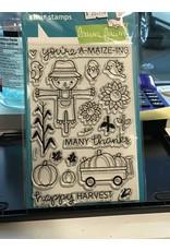 Treasuremart Clear Stamp Set: Happy Harvest