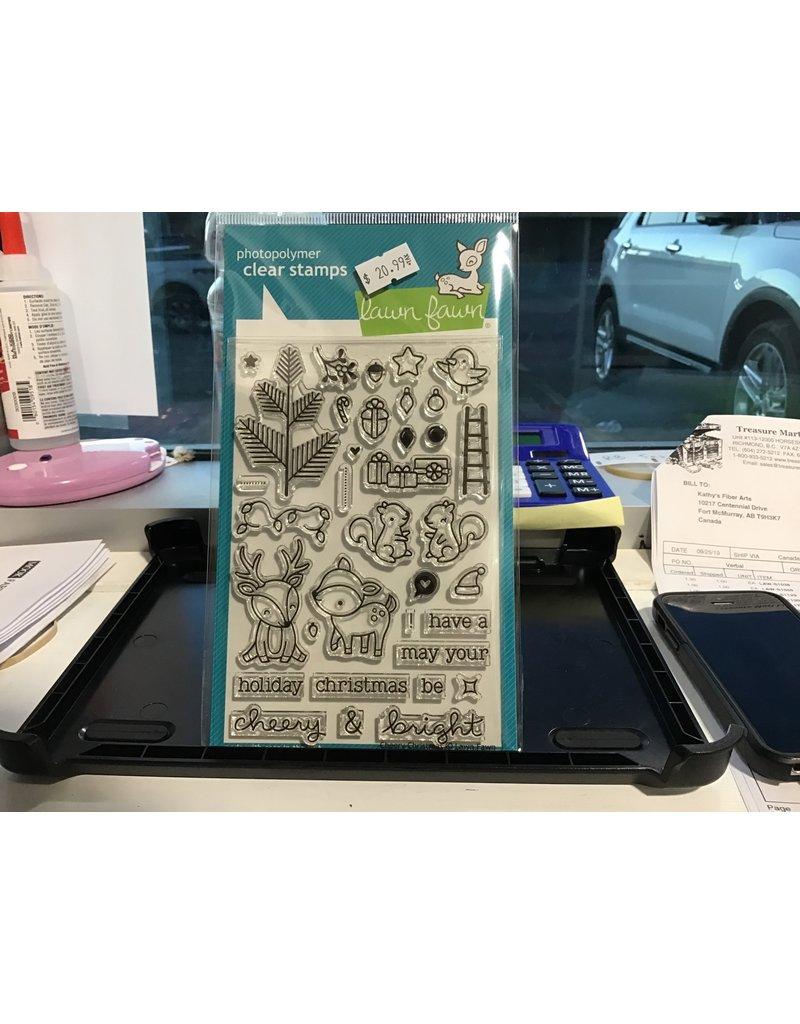 Treasuremart Clear Stamp Set: Cheery Christmas