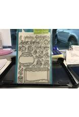 Treasuremart Clear Stamp Set: Fintastic Friends