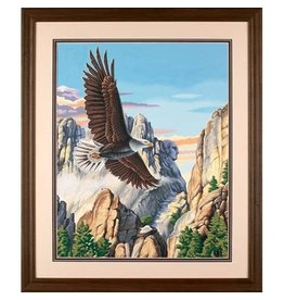 """Soaring Eagle - 20""""x16"""" Paint by Number"""