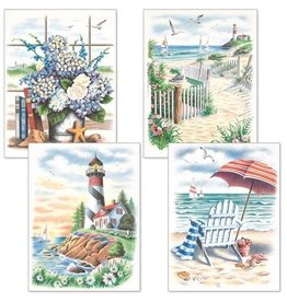 Pencil Works Color By Number Kit Beach Scenes
