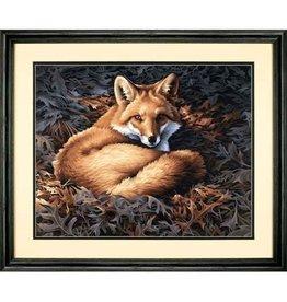 "Sunlit Fox - 20""x16"" Paint by Number"