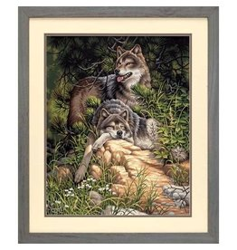 """Wild & Free Wolves - 20""""x16"""" Paint by Number"""