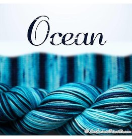 Biscotte Yarns Biscotte Yarns SELF-STRIPING yarn - Bis-Sock Ocean