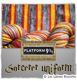 Biscotte Yarns Biscotte Yarns SELF-STRIPING yarn - Bis-Sock The Sorcerer's Uniform