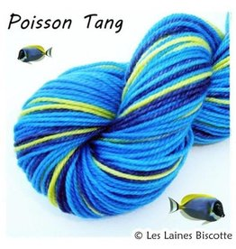 Biscotte Yarns Biscotte Yarns GRIFFON merino wool - Self-striping - Tang Fish