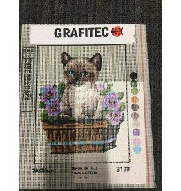 Grafitec Simease Kitten Tapestry 3.139