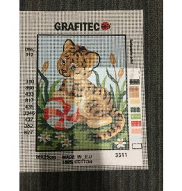 Grafitec Kitten With Ball Tapestry 3.311