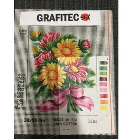 Grafitec Yellow and Pink Flowers Tapestry 3.283