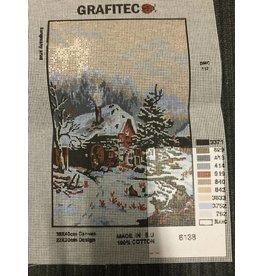 Grafitec Winter Cabin Tapestry 6.138