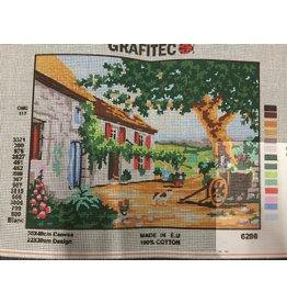 Grafitec Tuscan Courtyard Tapestry 6.296