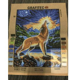 Grafitec Howling Wolf Tapestry  10.486