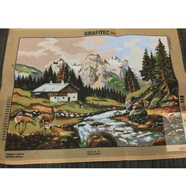Grafitec Mountain Chalet Tapestry 12.974