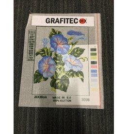 Grafitec Blue Flowers Tapestry 3.038