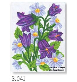 Grafitec Purple Flowers Tapestry 3.041