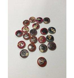 Kathy's Fiber Arts & Crafts Ltd 15mm Cats random pk of 8