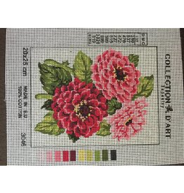Grafitec Pink Flowers Tapestry 3.046