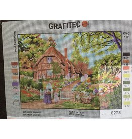 Grafitec Cottage Gate Tapestry 6.278