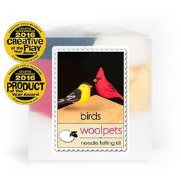 Wool Pets Needle Felting Kit Birds & Wild Animals