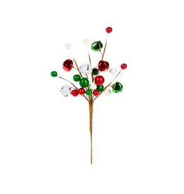 Darice Christmas Bell Pick: Red/Green/White - 5.12 x 9 x 0.98in
